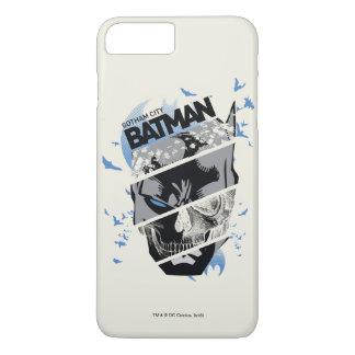 Gotham City Batman Skull Collage iPhone 7 Plus Case