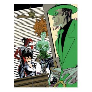 Gotham City Sirens Cv9 Postcard