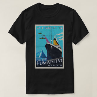 GothCruise 13: Oh, the Humanity 2-sided shirt