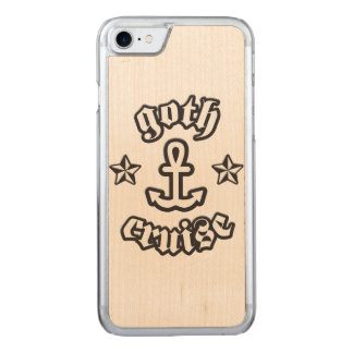 GothCruise Logo Carved® Wood for Phones Carved iPhone 7 Case