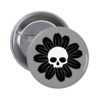 Gothflower 2 Inch Round Button