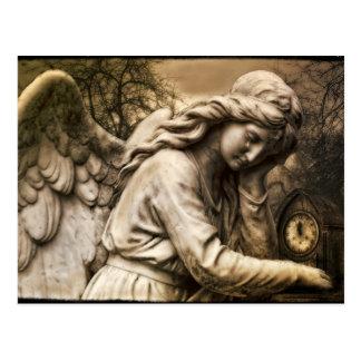 Gothic angel postcard