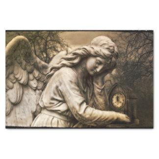 Gothic angel tissue paper