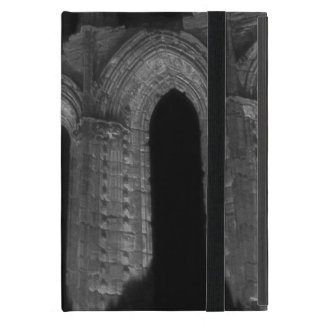 Gothic arches old ruined Whitby abbey iPad Mini Cover