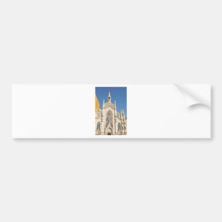 Gothic architecture in Rome, Italy Bumper Sticker