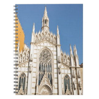 Gothic architecture in Rome, Italy Notebook