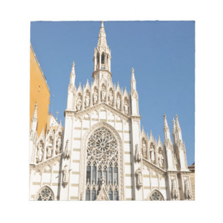 Gothic architecture in Rome, Italy Notepad