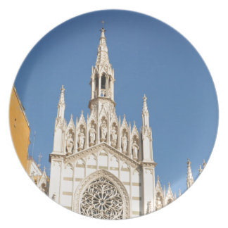 Gothic architecture in Rome, Italy Party Plates