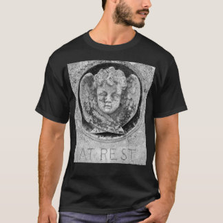 Gothic 'AT REST' Cherub T-Shirt