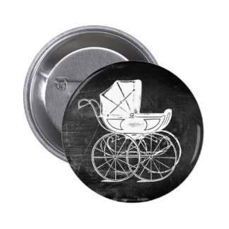 Gothic Baby Carriage 2 Inch Round Button