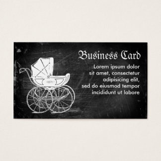 Gothic Baby Carriage Business Card