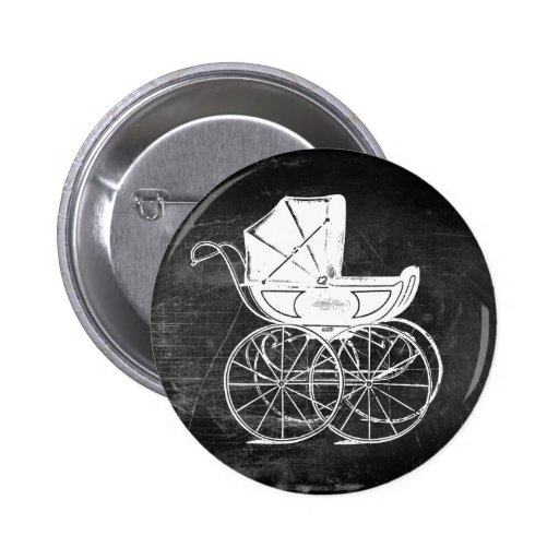 Gothic Baby Carriage Pin