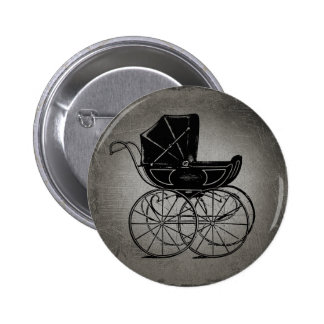 Gothic Baby Carriage Buttons