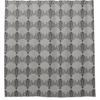 Gothic Baroque Design in Black and Gray