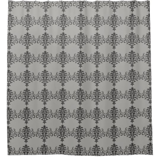 Gothic Baroque Design in Black and Grey