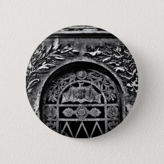 Gothic bat crypt 2 inch round button