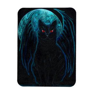 Gothic Black Cat Magnet