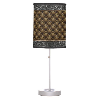 Gothic Bronze Table Lamp