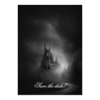 Gothic Castle Wedding Invitation