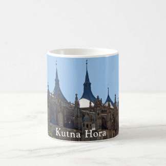 Gothic Cathedral of St. Barbara in Kutna Hora Coffee Mug