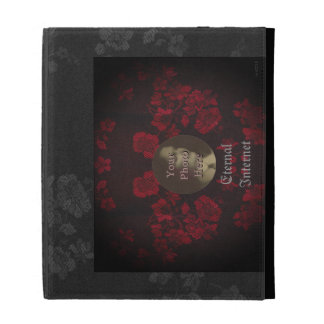 Gothic Cherry Blossoms iPad Cases