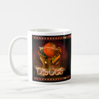 Gothic Chinese zodiac astrology sign Pisces Coffee Mug