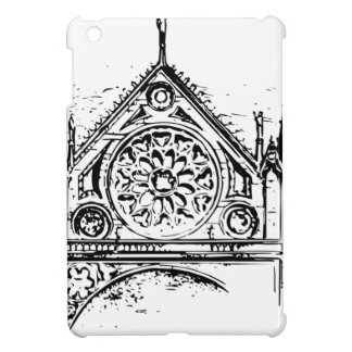 Gothic church painting iPad mini cover