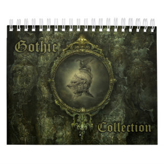 Gothic Collection Small Calendar