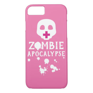 Gothic Creepy Cute Paste Goth Zombie Apocalypse iPhone 8/7 Case