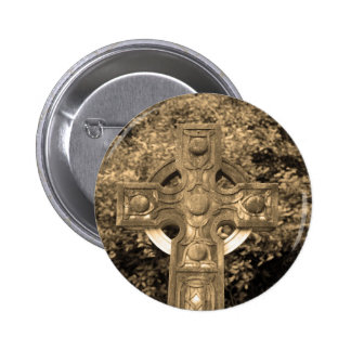 Gothic Cross Pinback Buttons