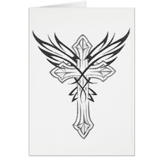 Gothic Cross Card