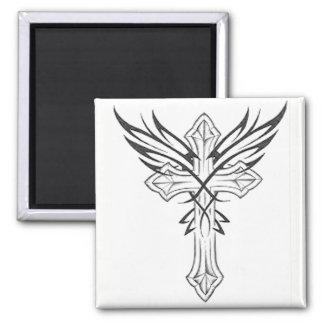 Gothic Cross Magnet