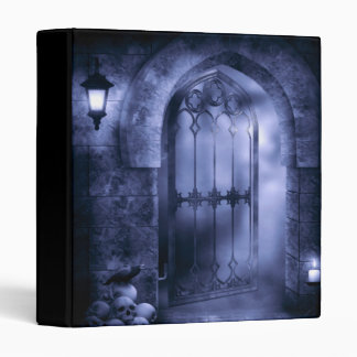 Gothic Crow Gate Binder