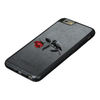 Gothic Crow on Rose OtterBox iPhone 6 Plus Case