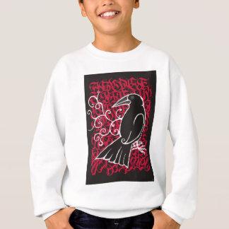 Gothic crow sweatshirt