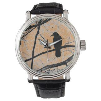 Gothic Crow Wristwatch