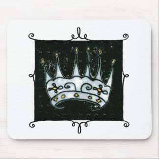 gothic crown mouse pad