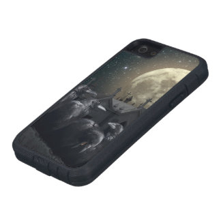 Gothic Crows Tough Xtreme iPhone SE Case