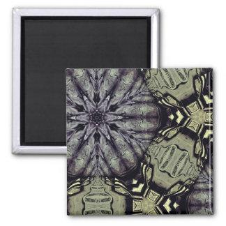 Gothic crypt mandala magnet