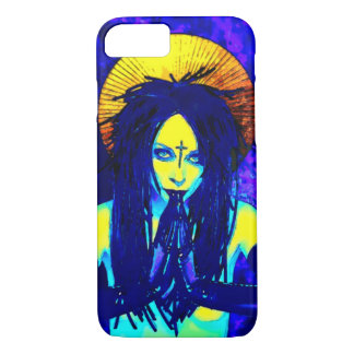 Gothic Dark Goddess iPhone 7 Case