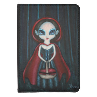 Gothic Dark Red Riding Hood Kindle Cover