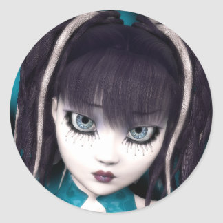 Gothic Doll Grunge Sticker