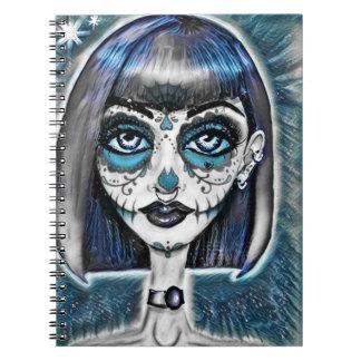 Gothic Doll Spiral Notebook