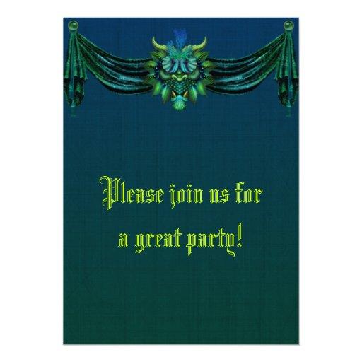Gothic Dragon Invitation