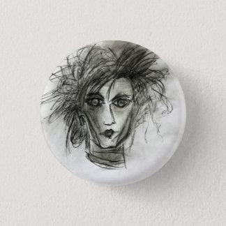 Gothic Edward Halloween Badge Art Pin