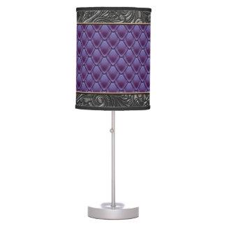 Gothic Eggplant Table Lamp