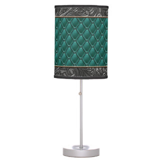 Gothic Emerald Table Lamp