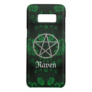 Gothic Eternal Pentacle Green Case-Mate Samsung Galaxy S8 Case