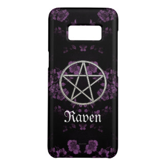 Gothic Eternal Pentacle Lavendar Case-Mate Samsung Galaxy S8 Case