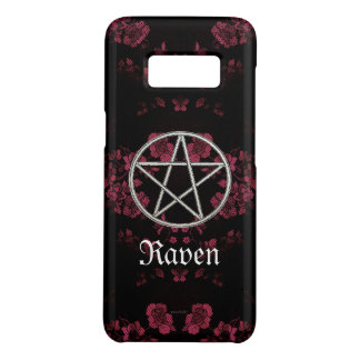 Gothic Eternal Pentacle Pink Case-Mate Samsung Galaxy S8 Case